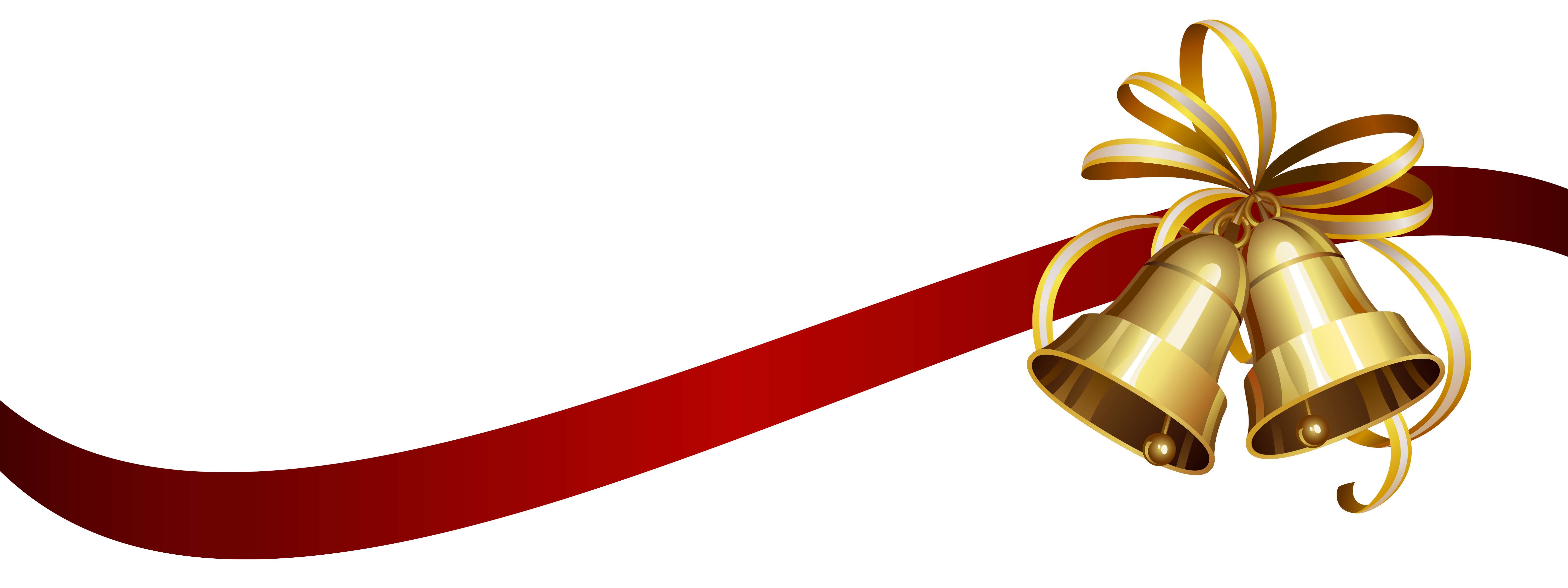 Christmas_Bells_with_Ribbon_Transparent_PNG_Clip_Art_Image